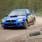 Escort RS2000 and Impreza WRX Gravel Rally