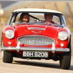 Austin Healey 3000 Track Experience