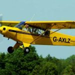 Piper Cub Flight Brighton