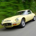 Jaguar E Type V12 Coupe Hire