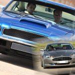 Classic vs Modern Aston Martin Drive Oxfordshire
