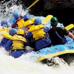 White Water Rafting in Cardiff Bay