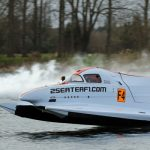 F4 Race Powerboat Driving