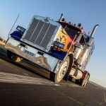 Optimus Prime Truck Driving