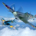 Harvard and Spitfire Experience Duxford