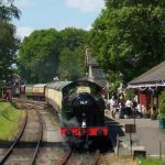 Steam Train Sunday Lunch in Somerset