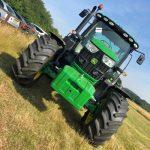John Deere Tractor Driving