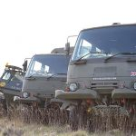 4×4 Army Truck Driving