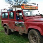 Teen Land Rover Driving Newcastle