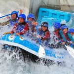 White Water Rafting in Northants